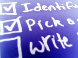 Increase Productivity at Work by Making a Checklist