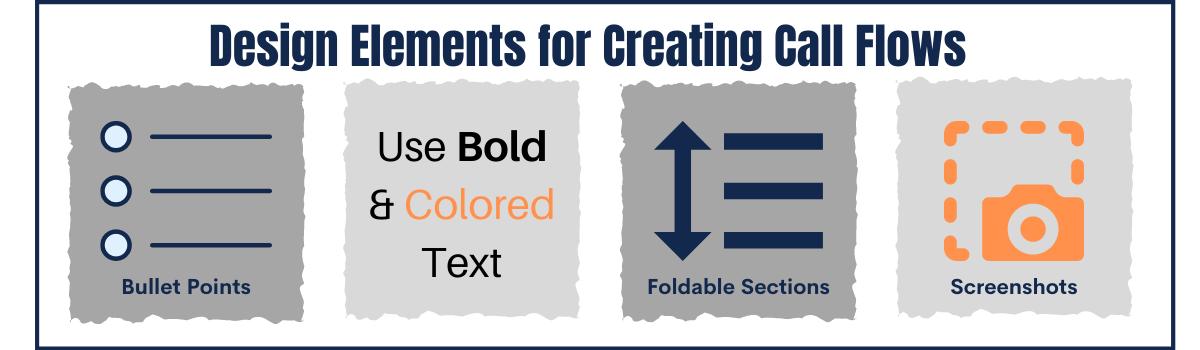 Call Flow Design Elements