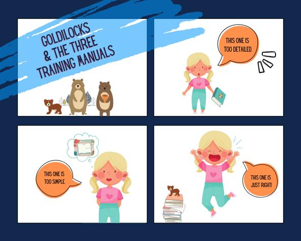 Goldilocks and the 3 manuals