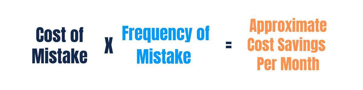 ScreenSteps ROI - Mistake Savings