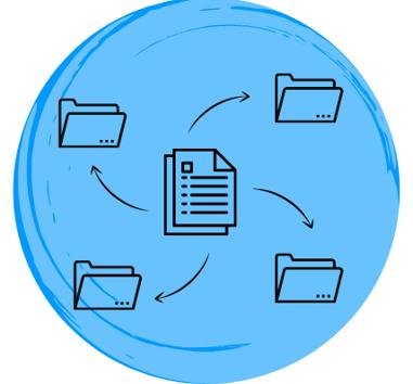 Organize knowledge base documents