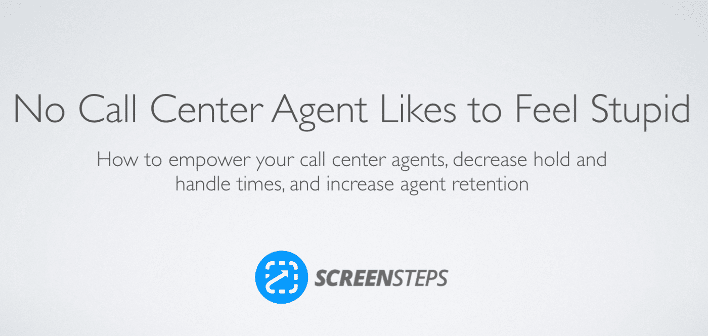 Call center agents not stupid