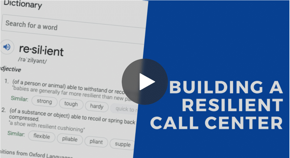 resilient call center